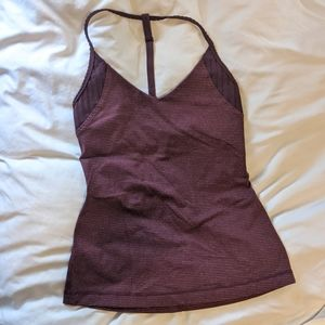 Lululemon adjustable Y back